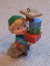 1990 Hallmark Ornament Armful of Joy Collector's Club