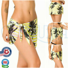 Coqueta Swimsuit Cover Up Wrap FASHION Sarong Chiffon MIAMIYELLOW Pareo Swimsuit