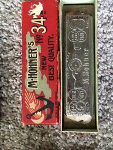 vintage M. Hohner best harmonica, works