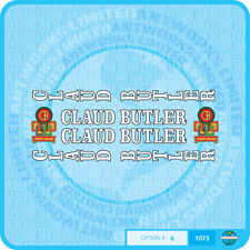 Claud Butler Bicycle Decals Transfers Stickers - Set 6