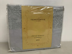 Highgate Manor Bedding 4 Piece Microfiber Queen Sheets Set *Never Used*