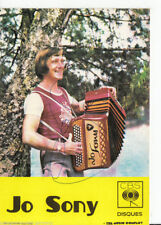 Jo Sony TOP AK 80er Jahre Orig. Sign. +23731