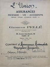 Gérard PHILIPE - Pièce signée 3 fois (1957)