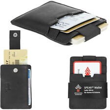 Geldbörse Kartenbörse Leder Spear Wallet RFID Herren Kartenetui Visitenkarten SC