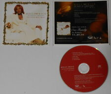 Kelly Price  In Love at Christmas + instrumental U.S. promo cd  hard-to-find