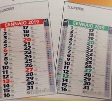 100 dutch calendars silhouette cm 14 x 47 with print vs advertising colour