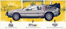 Back To The Future Phantom City Creative Mondo Variant Artist Proof Print 6/23