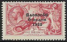 More details for ireland 1922-23 5s hm sg 65 cv £85