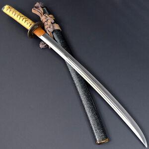 ANTIQUE NIHONTO JAPANESE KATANA SWORD WAKIZASHI SANEMORI 真守 signed w/KOSHIRAE NR