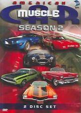 American Muscle Car MUSCLECAR TV Series Complete Season 2 DVD & *