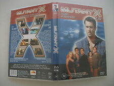 Mutant X : Vol 2 : Part 6 (DVD, 2003) Region 4 Sci-Fi DVD Rated M Used in VGC