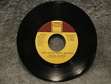 """45 RPM 7"""" Record Thelma Houston Today Will Soon Be Yesterday 1976 Tamla T 54278F"""