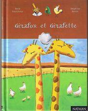Girafon et Girafette * René GOUICHOUX * étoile filante * NATHAN