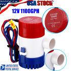 12V 1100GPH Electric Marine Submersible Bilge Sump Water Pump for Boat Yacht photo
