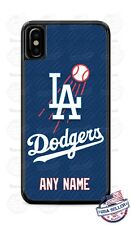 Customize Los Angeles Dodgers Baseball Phone Case Cover Fits iPhone Samsung LG