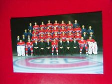 2012-13-Montreal Canadiens-Team Photo-(sp) Postcard.