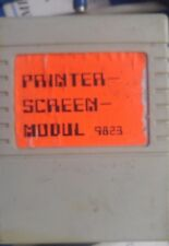 Printer-Screen-módulo c64 Commodore 64 módulo Cartridge (nº 9823)