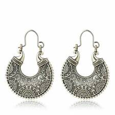 925 Silver Plated Indian Antique Chand Bali Ring Jhumka jhumki earrings