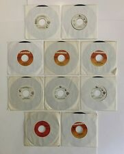 """Chicago 7"""" Vinyl 45 RPM 10 Lot Free Country Free Hideway Only You 25 or 6 To 4"""