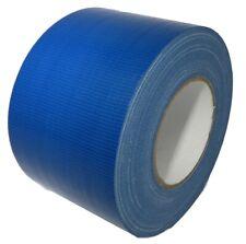 Tru Industrial Duct Tape Waterproof Uv Resistant Dark Blue 4 In X 60 Yd