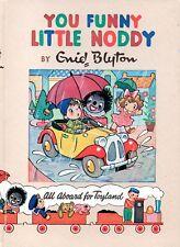 YOU FUNNY LITTLE NODDY All Aboard for Toyland  – Enid Blyton 1955 Hcvr