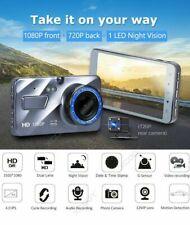 """XGODY Dual Lens 4"""" Car DVR 1080P FHD Dash Cam Video Night Recorder Camera V"""