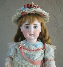 "Superb French Antique SFBJ Jumeau Doll Bisque Head 24"" Doll Compo Body #JD11"