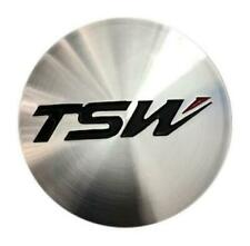 TSW Alloy center Cap Machined Finish PCC43-2 Brand NEW