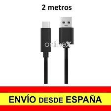 "Cable Datos Cargador USB Tipo ""C"" 3.1 - USB Macho 2 M. para NOKIA 7 a2946"