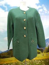 Stapf Austria fescher Walker grün mit Zopfmuster Trachtenjacke Jacke Gr.48
