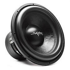 Skar Audio Vxf-15 D4 15 3000w Max Power Dual 4 Ohm Competition Car Subwoofer
