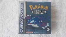 NINTENDO GAME BOY -  POKEMON SAPPHIRE (AUTHENTIC RED STRIP SEALED)