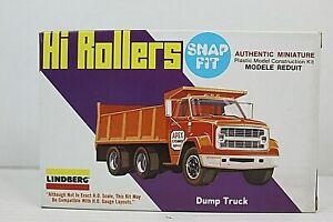 Lindberg - Hi Rollers Miniature Model - Dump Truck #1020 - Snap Fit NIB