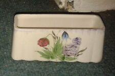 Vintage/Retro Radford Handpainted Floral Design Oblong Dish - VGC