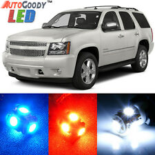 14 x Premium Xenon White LED Lights Interior Package Upgrade for Chevy Tahoe