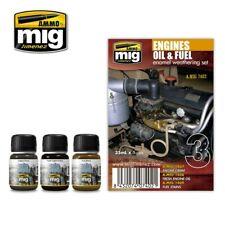 Ammo by Mig Weathering Set - Engines Set A.MIG-7402