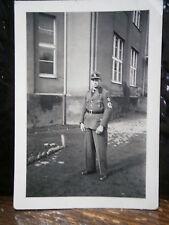 Photo argentique guerre 39 45 soldat Allemand wehrmacht WWII 2 Waffen unforme