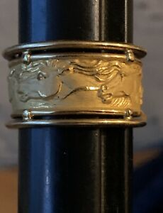 Carrera y Carrera Equestrian 18K Ring