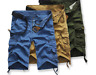 Summer Military Casual Men's Army Combat Camo Overall Shorts Cargo Sports Pants