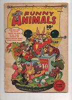 Fawcett's Funny Animals #36 Hoppy The Captain Marvel Bunny! Shazam 1946 G/VG 3.0