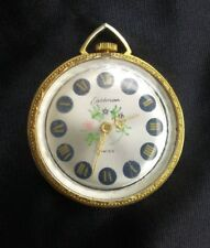 Vintage Eastman Swiss Mechanical Wind Up Necklace Pendant Watch
