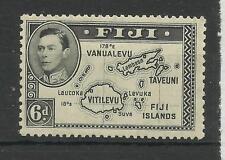 Fiji, 1938 Sg 260, Die 1, 6d Black perf 13 X 12, LM/M [399]