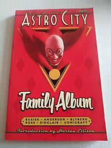 Astro City Family Album - 1998 Trade Paperback - Homage / DC  * Cover Damage *