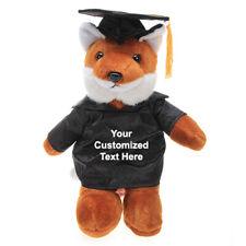 "Customized graduation plush bear for her 2020 I love you gift Box Fox 12"""
