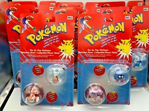 Lot Of Pokemon Hasbro TOMY Sealed Figures  2000 Brand New & Genuine.