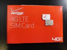 New Verizon Nano 4Ff Sim Card 4G Lte Cdma Prepaid Or Postpaid