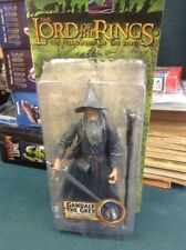 LORD OF THE RINGS GANDALF THE GREY W LIGHT-UP STAFF FELLOWSHIP OF RING NIP 2003