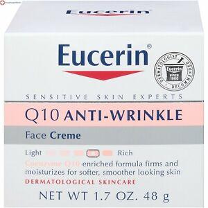 Eucerin Sensitive Skin Experts Q10 Anti-Wrinkle Face Creme 1.70 oz