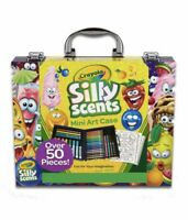 Crayola Mini Art Case Silly Scents 52 pieces Coloring Pages Crayons Markers Kids