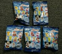 NEW 5 DISNEY Blind Bag Wikkeez Euro Surprise Lot of 5 Toy Figur + Sticker Sealed